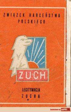 Legitymacja Zucha /Cub scout id Good Old Times, My Childhood Memories, School Projects, Retro, The Past, Communism, Grandmothers, Humor, Eagles