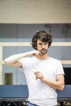 """""""Bakkhai Rehearsals: Ben Whishaw, Bertie Carvel, Kevin Harvey & Cast (Photos by Marc Brenner) """" Bakkhai runs at the Almeida Theatre from 23 July to 19 September 2015. More tickets go on sale to..."""