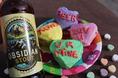 """Valentine's Day Chocolate Obsidian Stout """"Love Cakes"""" 