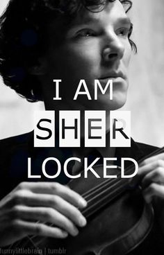 I am Sherlocked. prolly my fav pic of him