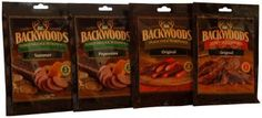 Backwoods Snack Stick Variety Pack Make as little as one pound at a time in oven or dehydrator Seasoning and cure Makes five pounds of each: Regular, Hot and Pepper Sticks Use with LEM Products Jerky Cannon or Jerky Gun Directions included Make It Simple, Easy Work, One Pound, Dad Day, Root Beer, The Cure, Oven, Stuffed Peppers, Snacks