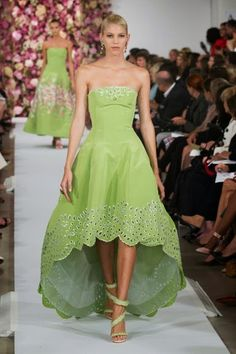 Oscar de la Renta spring-summer 2015 @ NYFW (New York Fashion Week) - video