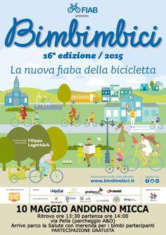 BIMBIMBICI  Andorno Micca pedalata in sicurezza 10 maggio 2015
