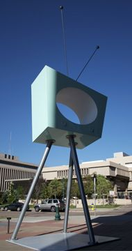 Chris Weed | sculpture, metal  Plaza of the Rockies  Colorado Springs