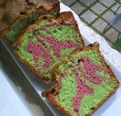 cake rose et vert