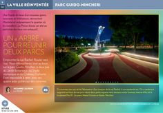 Un « arbre » pour réunir deux parcs - La Presse+ Parcs, Coin, Rue, Desktop Screenshot, The Neighborhood, Places