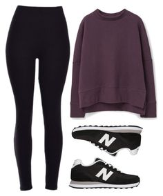 """rainy morning"" by redapplecigarettes ❤ liked on Polyvore featuring New Balance, MANGO, women's clothing, women's fashion, women, female, woman, misses and juniors"
