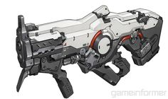 The Explosive, Modified Arsenal of Doom - Game Informer Sci Fi Weapons, Weapon Concept Art, Weapons Guns, Fantasy Weapons, Guns And Ammo, Doom 4, Doom Game, Future Weapons, Art Et Illustration