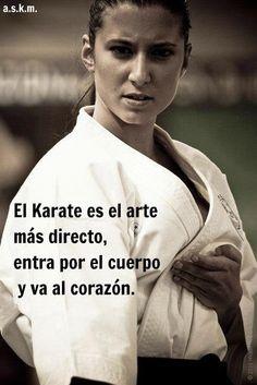 El Karateca siempre ama su arte marcial y lo que le ha enseñado.