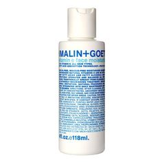 Malin + Goetz Vitamin E Face Moisturizer. Soaks in to skin instead of coating the surface. Serves as a make up primer as well as an aftershave.