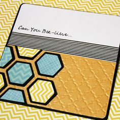 Craft-e-Corner Blog * Celebrate Your Creativity: Bee-utiful Spring Card Tutorial - Part I
