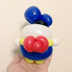Disney: Donald Duck (without face) Mini Balloons, Disneyland, Chibi, Sculptures, Birthday, Instagram Posts, Party, Donald Duck, Characters