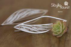 ***filigran earings*** Sibylle Flouret bijoux www.sibylleflouret.com