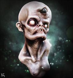 ArtStation - Josh Hardie Fan Art #1- Monster Creature Design Doodle, Kenny Carmody