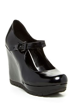 Kenneth Cole Reaction Mark Out Mary Jane Wedge Pump by Kenneth Cole Reaction on @nordstrom_rack