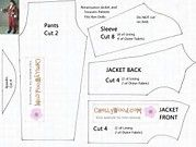 Image result for Cape Pattern Free American Girl Printable