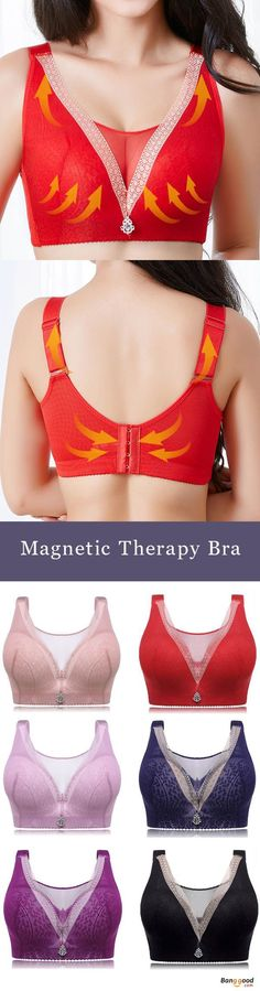 dc0193919f Push Up Wireless Breathable Back Shaping Minimizer Bra.  women  lingerie   2018 Comfortable