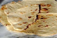 Recette sans gluten: pain naan | LE BONHEUR EST SANS GLUTEN