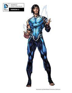 "dcvertigodaily: "" "" Titans: Rebirth Donna Troy, Tempest, Nightwing, Omen and Arsenal. Dc Rebirth, Titans Rebirth, Arte Dc Comics, Marvel Comics, Wally West, Character Sketches, Comic Character, Character Design, Nightwing"