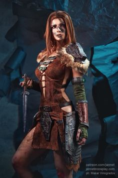 Aela Huntress from Skyrim
