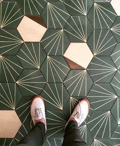 Gorgeous contemporary tiles