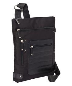 Women in Business Black Phoenix Crossbody Bag | zulily