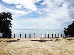 Não tem tempo ruim pra um domingo de praia. Vambora dar um tchibum! #floridabeaches #praia #domingo #keywest #keylargo #islamorada