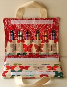 coloring book and crayon tote pin stitch pinterest coloring books coloring and crayons - Coloring Book And Crayon Holder