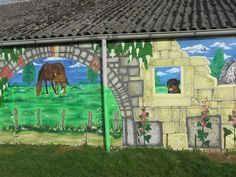 deel muurschilderij