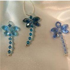 Crystal Dragonflies by sophia
