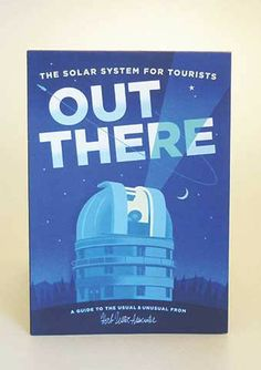 Herb Lester Solar System Out There Travel Guide Map - Trouva