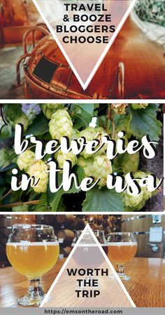 Breweries Worth the Trip According to 16 Travel & Beer Writers — Em's On The Road Distillery, Brewery, Travel Guides, Travel Tips, Travel Stuff, Travel Destinations, Drinking Around The World, United States Travel, Travel Usa