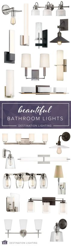 All the beautiful bathroom lighting you could dream of, all in one place. All the beautiful bathroom lighting you could dream of, all in one place. Bathroom Light Fixtures, Bathroom Lighting, Brass Bathroom, Vanity Bathroom, Vanity Lighting, Bathroom Renos, Master Bathroom, Shower Bathroom, Bathroom Remodeling