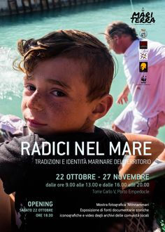 'NTINNAMMARI - Photo Exhibition of NUCCIO ZICARI  22 oct - 27 nov Carlo V Tower Porto Empedocle, Sicily. Italy