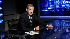 Brian Williams to Stay at NBC After Suspension - Hollywood Reporter - The Hollywood Reporter Brian Williams, Nbc Nightly News, New Industries, News Anchor, The Hollywood Reporter, Lol, Chopper, Desk, Number