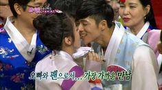 【TVPP】Soyeon(T-ara) - Pepero game with Oh Jong-hyuk, 소연(티아라) - 오종혁과 아슬아슬...