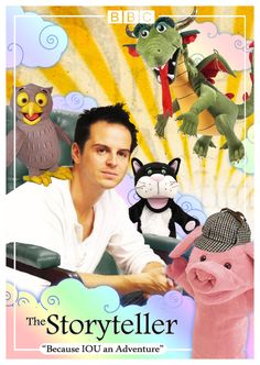 Because IOU and adventure. D:  Moriarty at his creepiest