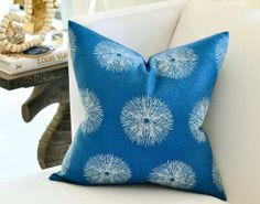 Lee Jofa Pillows | Pillows - Lee Jofa Sea Urchin pillow by woodyliana I Etsy - teal, blue ...
