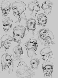 Painting People Tutorials Artists 42 Super Ideas to drawing people Anatomy Sketches, Anatomy Drawing, Anatomy Art, Head Anatomy, Drawing Skills, Drawing Poses, Figure Drawing, Drawing Lessons, Drawing Tips