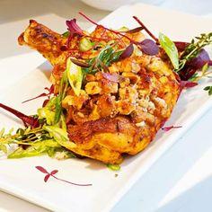 poulet, caramélisé, fruits secs, recette, plat, cuisine, yotam Ottolenghi