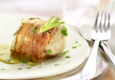 Prosciutto Wrapped Halibut (Come dine with me Canada)