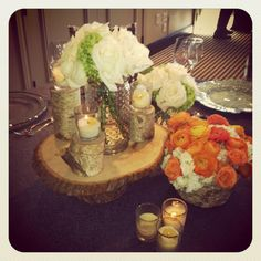 Moments with the planner - rustic wedding decor idea