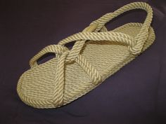 Women's Classic Rope Sandal in Beige Rope Sandals, Walking Barefoot, Thing 1, Beige Color, Straw Bag, Classic Style, Knots, Trending Outfits, Unique Jewelry