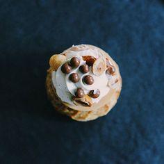 Chou praliné cacahuète de Cyril Lignac