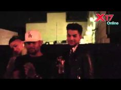 Adam Lambert Attends Miley Cyrus' Wacky 22nd Birthday Bash - November 22...