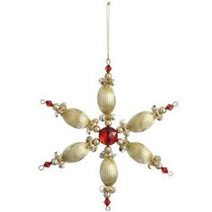 Beaded Snowflake Ornament http://www.ecrafty.com/casearch.aspx?SearchTerm=snowflake