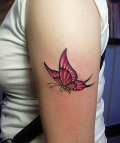 butterfly tattoo design on the arm