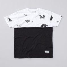 Raised By Wolves Jungle Book Colour Block T Shirt...