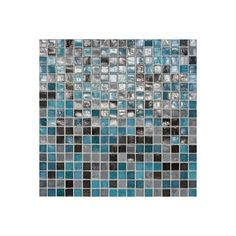 """Daltile City Lights 12"""" x 12"""" Mosaic Blend Field Tile in Rio (219.280 CLP) ❤ liked on Polyvore featuring tile, walls and wallpaper"""