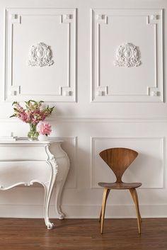 white wall.